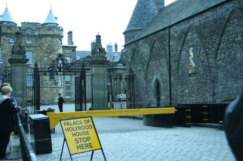 El fantasma del palacio de Holyrood