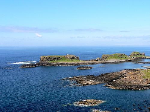 Recorrer las Islas Treshnish en Mull