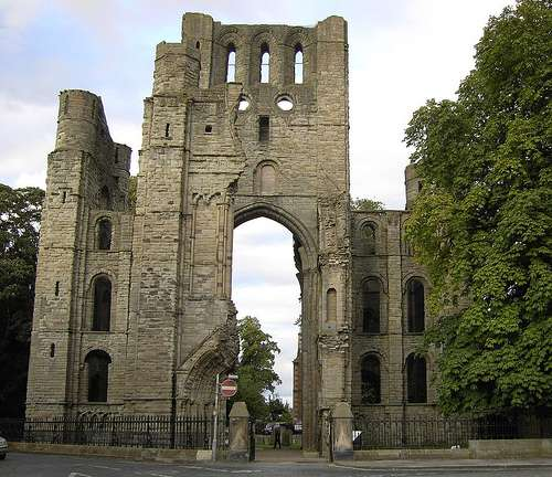 Visita a la abadía de Kelso