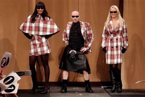 El kilt se moderniza a los tiempos actuales