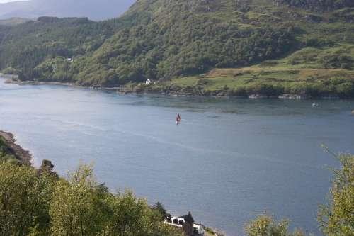 Lago de Escocia