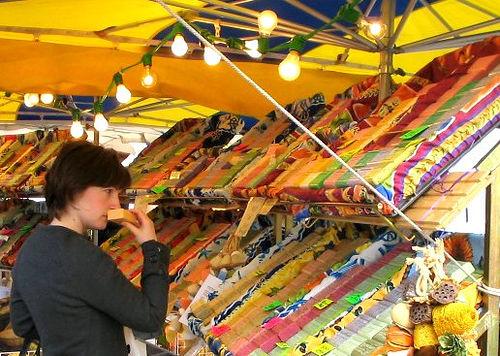 Mercado en Escocia