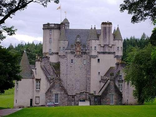 Castillo de Fraser, en el condado de Aberdeenshire
