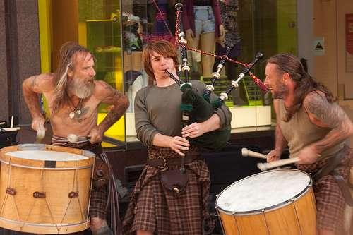 La música tradicional escocesa