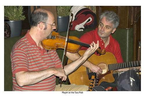 actuación de música tradicional