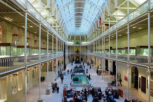 El National Scotland Museum, en Edimburgo