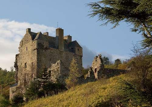 Los desamores del castillo de Neidpath