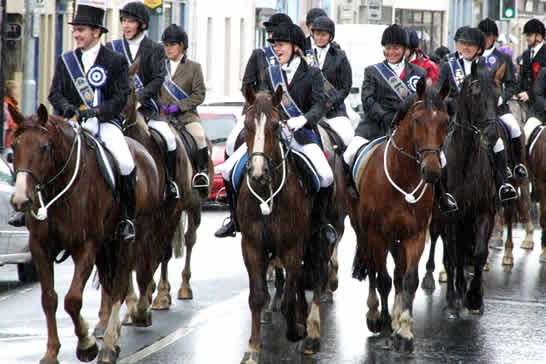 Riding of the Marches en Edimburgo