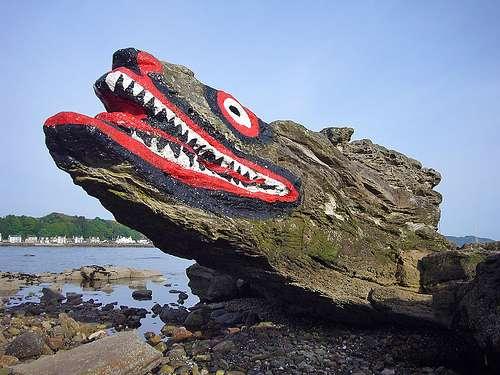 Lugares turísticos en la Isla de Cumbrae
