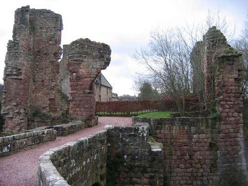 Castillo de Roslin, cerca de Roslin, en Midlothian