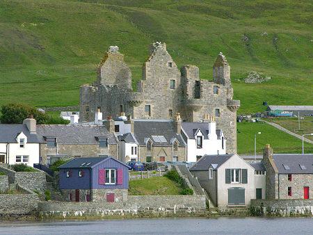 Scalloway y su castillo