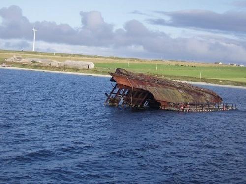 Bucear en Scapa Flow, Islas Orcadas