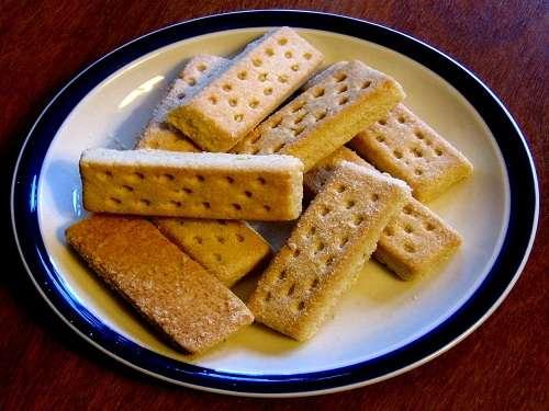 Shortbread, bizcochos escoceses