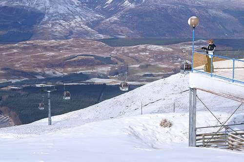 Esqui en Escocia
