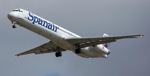 Avion de Spanair