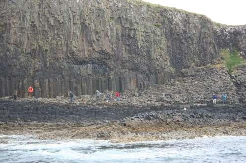 La espectacularidad de la isla de Staffa