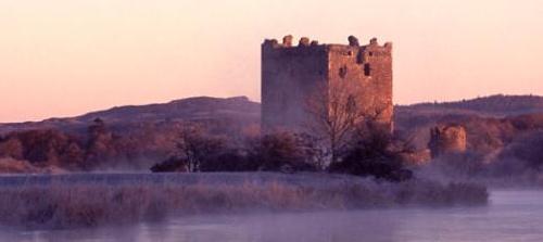 El Castillo de Threave en el río Dee