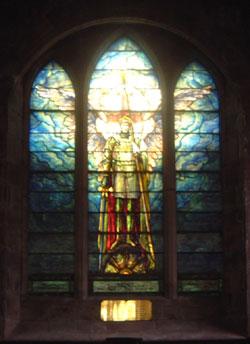 Vidriera de la Iglesia de San Pedro en Fyvie