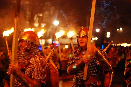 Hamefarin, la gran fiesta vikinga de las Shetland